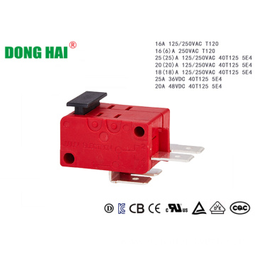 Red Double poles Micro switch